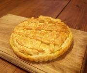 スイートポテトパイを作りました。甘いものにも目がありません。