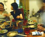 美味しいお料理とお酒で楽しいひととき。