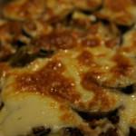 新聞に掲載されていたレシピを見て作ったギリシャ料理「ムサカ」。