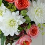暑い夏は涼しげな花が人気です。