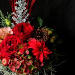 今年のクリスマスもたくさんの花をお届けしました。