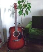 お気に入りの大切な私のギターです。