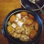 寒い日はお鍋が恋しい。週に2回は食べてます。